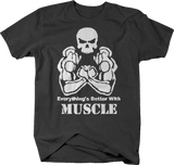 Everything's Better Muscle Skull Training Workout