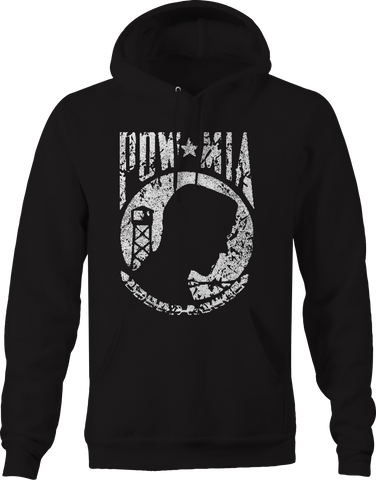 POW MIA Military Vietnam Veteran War Tribute  Hoodie
