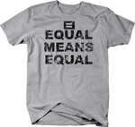 Distressed - Equal Means Equal Gay Rights
