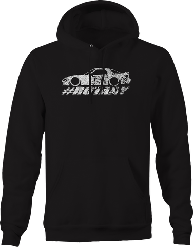 Import Lowered Custom Rotary Engine Racing  Hoodie