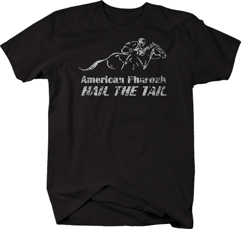 Distressed - American Pharaoh Hail the Tail Derby Horse Racing