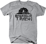 Distressed - Oilfield Trash Hardhat Oil Barrack Union Worker