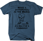Distressed - Double Tap a Terrorist lsis Hunter Skull