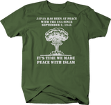 Peace with Islam Japan WW2 Nuclear War Infidel