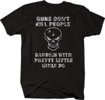 Distressed - Guns Don't Kill People Dad Pretty Daughters Do Gun Rights