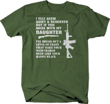Quiet & Reserved Daughter Nightmare AR15 Shotgun Protection