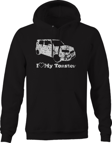I Love My Toaster Scion XB Lowered Custom  Hoodie