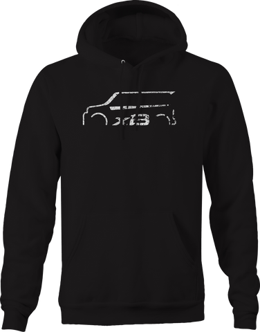 Scion XB Racing Import Lowered  Hoodie