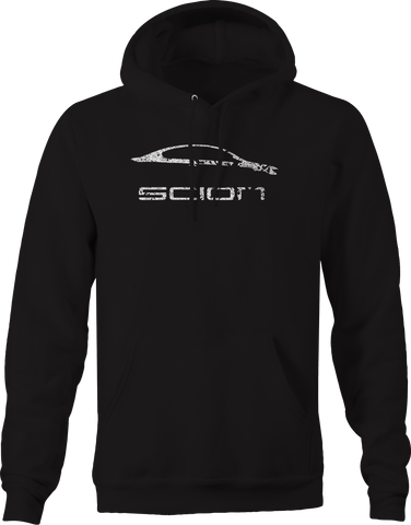 Scion TC Side View Silhouette  Hoodie