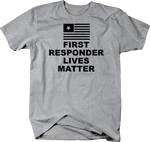 First Responder Lives Matter Flag Police Military Support