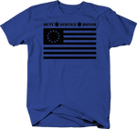 Duty Service Honor 1776 American Flag Police Support