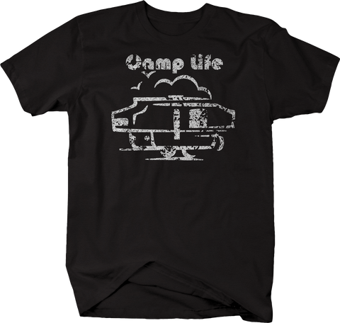 Distressed - Camp Life - Camping