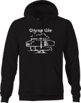 Distressed Camp Life Hoodie