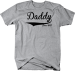 Daddy Since 2017 Funny Father's Day T-Shirt