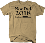 New Dad 2018 Loading Daddy Baby Birth Announcement