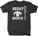 Squat - Bench - Deadlift - Gym Powerlifting