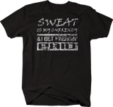 Distressed - Sweat is my Currency I get Freakin' Paid Gym