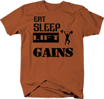 Eat Sleep Lift Gains Gym Training Workout