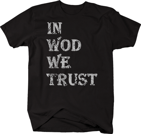 Distressed - In WOD We Trust Fitness Gym Training Workout