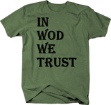 In WOD We Trust Fitness Gym Training Workout