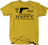 My 1911 Makes Me Happy, You Not So Much Gun Rights