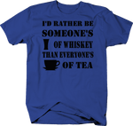 I'd Rather Be Shot Of Whiskey Than Cup of Tea
