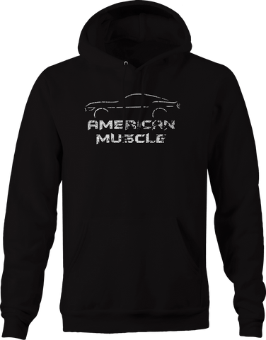 American Muscle Car Cobra Shelby Hoodie