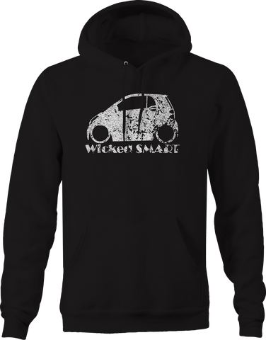 Wicked Smart Car- Two Four Lowered Racing Custom  Hoodie