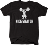 Nice SnatchGym Lifting Clean Deadlift Fitness Girl