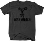 Distressed - Nice SnatchGym Lifting Clean Deadlift Fitness Girl
