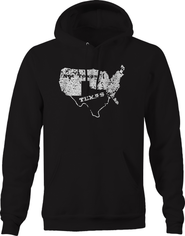 Texas / Not Texas Secede Austin Dallas Oil Longhorn  Hoodie