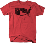 Distressed - Texas / Not Texas Secede Austin Dallas Oil Longhorn