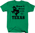 Don't Mess with Texas Cowboy Austin Dallas Oil Longhorn