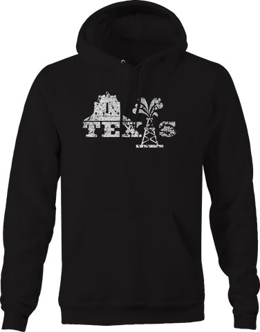 Texas Not Texas Oilfield Austin Dallas Oil Longhorn UT  Hoodie