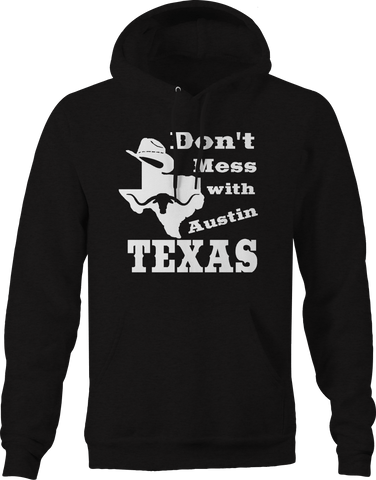 Don't Mess with Texas Cowboy Hat Austin Oil Longhorn UT