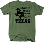 Don't Mess with Texas Cowboy Hat San Antonio Longhorn UT