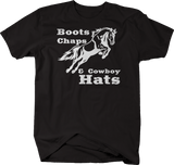 Boots Chaps & Cowboy Hats Country Music Horse Equestrian