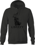 Statue of Liberty AR15 2A Gun Rights Military Police  Hoodie
