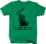 Statue of Liberty AR15 2A Gun Rights Military Police