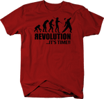 Revolution Evolution It's Time Molotov Cocktail Military Police