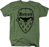 Gangster Detroit Skull Bandana Money Music Hat Dollar Sign