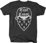 Gangster East Coast Skull Bandana Money Hat Dollar Sign