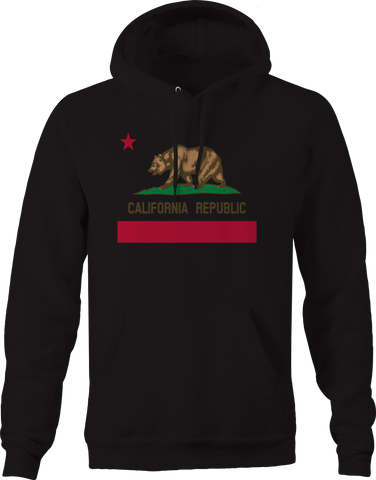 California Republic Bear Flag Cali Hoodie