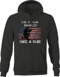 American Flag Solider Military Rifle Hoodie