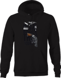 My Gun is Much Bigger than Yours Revolver Hoodie