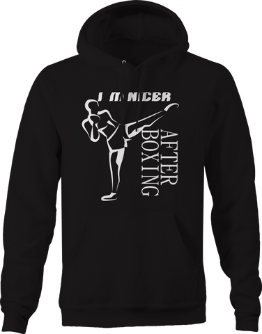 I'm Nicer After Boxing MMA Kick Hoodie