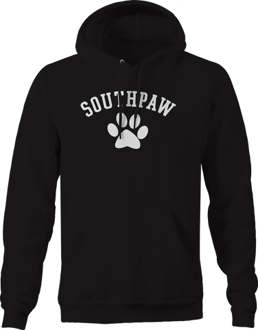 Southpaw Boxing Dog Paw Left Handed Hoodie
