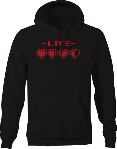 Life Video Game Hearts Zelda Hoodie