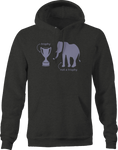 Trophy Not Trophy Elephant Hunting Africa Hoodie