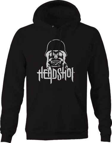 Headshot Military Solider Sniper Skeleton Skull Hoodie